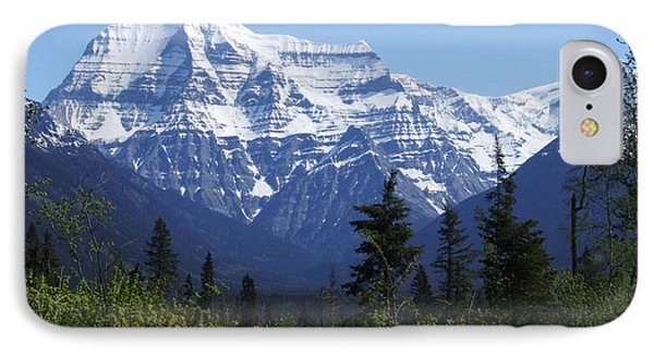 Mount Robson - Canada IPhone Case by Phil Banks
