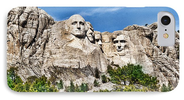 Mount Rushmore IPhone Case by Don Durfee