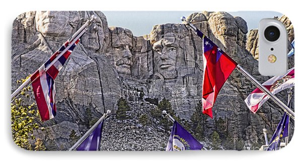 IPhone Case featuring the photograph Mount Rushmore by Jason Abando