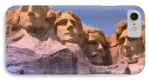 Mount Rushmore Phone Case by Olivier Le Queinec