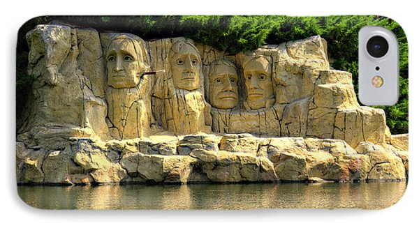 Mount Rushmore Phone Case by Ricky Barnard