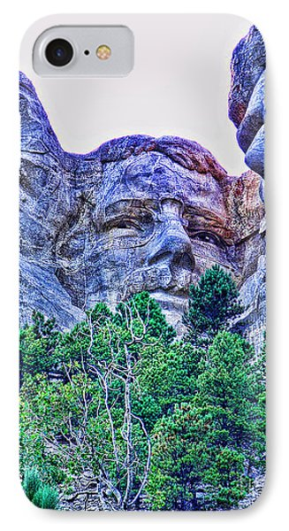 Mount Rushmore Roosevelt Phone Case by Tommy Anderson