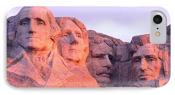 Mount Rushmore, South Dakota, Usa IPhone 7 Case by Panoramic Images