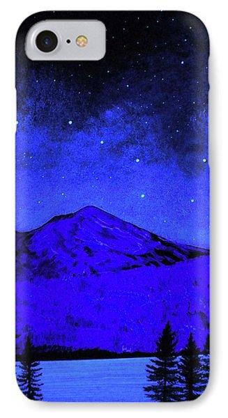 Mount Shasta In Starlight IPhone Case by Frank Wilson