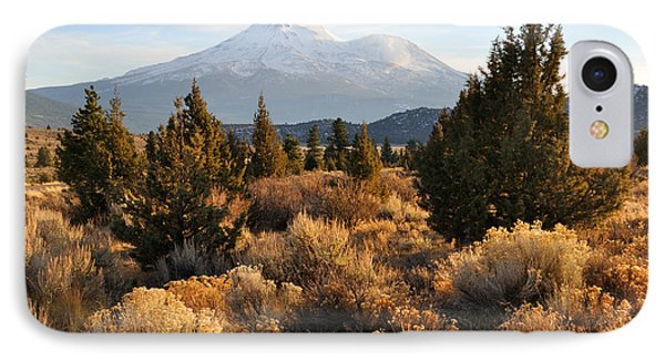 Mount Shasta In The Fall  IPhone Case