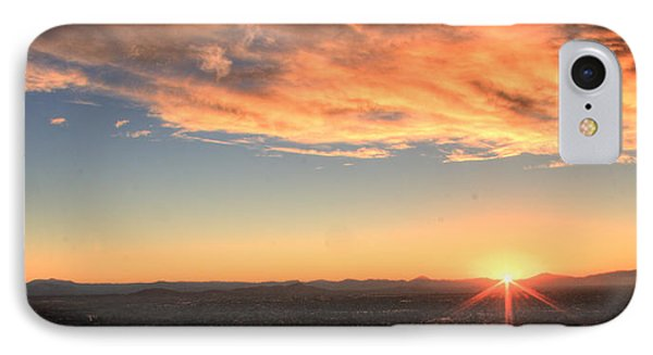 IPhone Case featuring the photograph Mount Soledad Panoramic Sunrise by Jeremy McKay