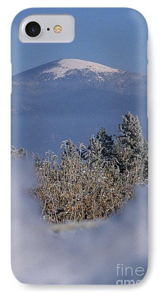 Mount Spokane Phone Case by Sharon Elliott
