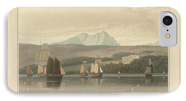 Mount Stuart On The Isle Of Bute IPhone Case by British Library