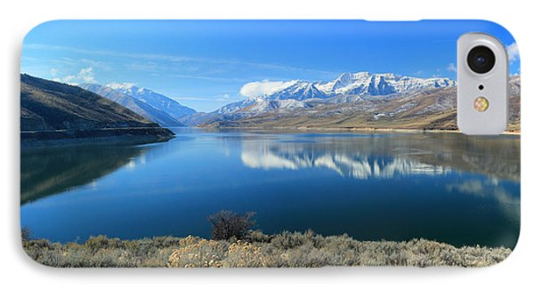 Mount Timpanogos From Deer Creek IPhone Case by Johnny Adolphson