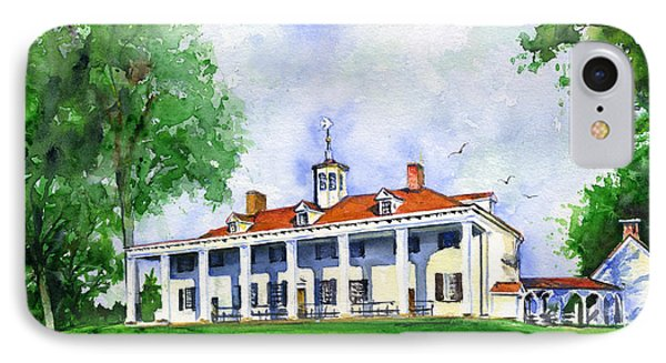 Mount Vernon Front IPhone Case