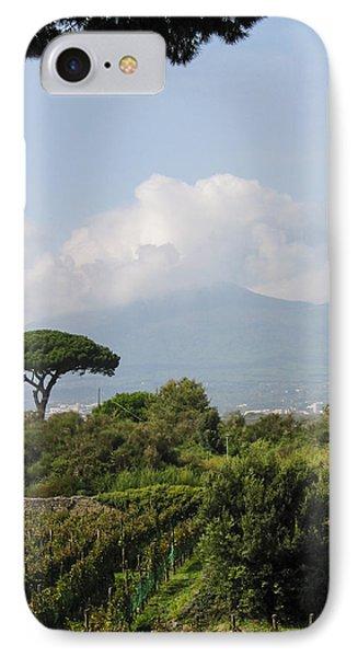Mount Vesuvius Phone Case by Adam Romanowicz