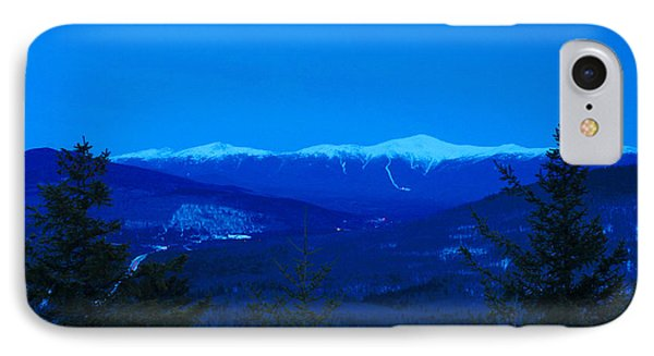 Mount Washington And The Presidential Range At Twilight From Mount Sugarloaf IPhone Case