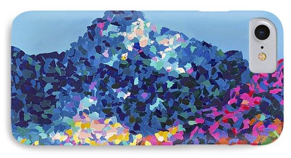 Mountain Abstract Jasper Alberta Phone Case by Joyce Sherwin