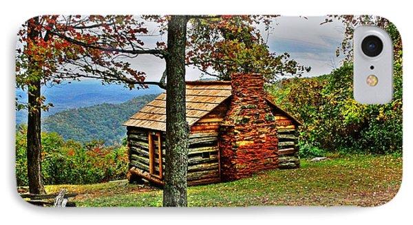 Mountain Cabin 1 Phone Case by Dan Stone