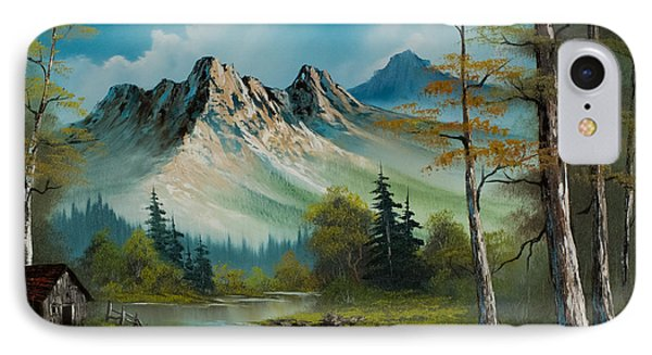 Mountain Retreat IPhone Case by C Steele