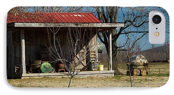 Mountain Cabin In Tennessee 1 Phone Case by Douglas Barnett