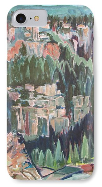 Mountain Cathedral IPhone Case by Betty Pieper