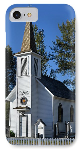IPhone Case featuring the photograph Mountain Chapel by Anthony Baatz