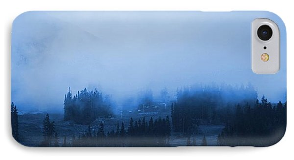 IPhone Case featuring the photograph Mountain Clouding Over by Amanda Holmes Tzafrir