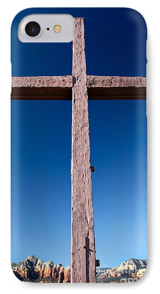 Mountain Cross IPhone Case