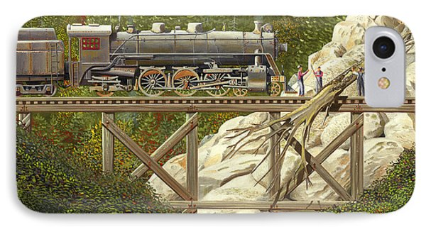 Mountain Impasse IPhone Case by Gary Giacomelli