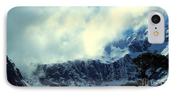 Mountain In New Zealand IPhone Case by John Potts