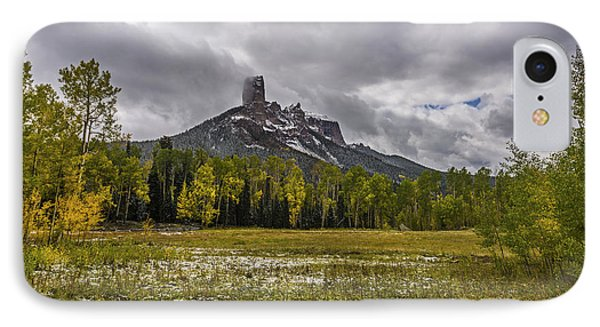 Mountain In The Meadow IPhone Case by Jon Glaser