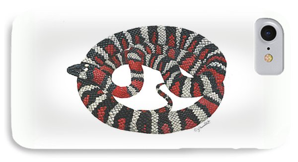 Mountain King Snake IPhone Case by Cindy Hitchcock