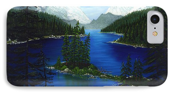 Mountain Lake Canada IPhone Case by Patrick Witz