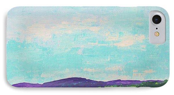 Mountain Lake IPhone Case by Gail Kent