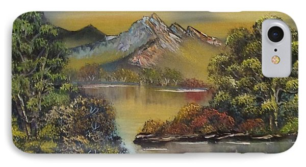 Mountain Lake Reflections Phone Case by Lee Bowman