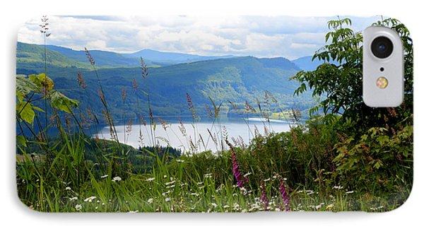 Mountain Lake Viewpoint Phone Case by Carol Groenen