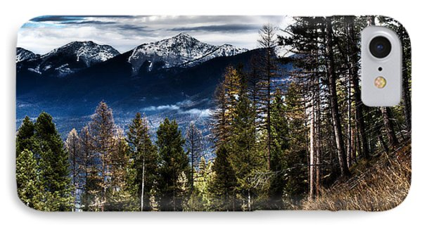 Mountain Morning IPhone Case by Janie Johnson