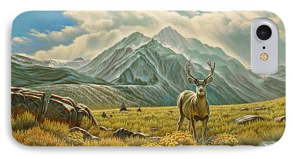 Mountain Muley Phone Case by Paul Krapf