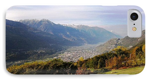 Mountain Panorama IPhone Case by Giuseppe Epifani