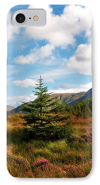 Mountain Pastoral. Rest And Be Thankful. Scotland Phone Case by Jenny Rainbow