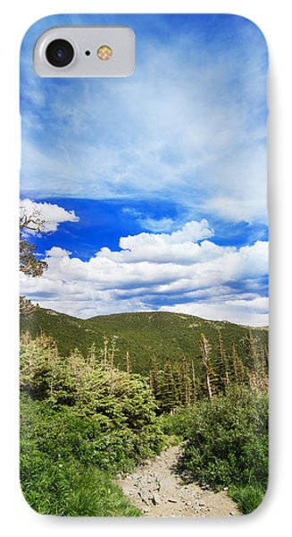 Mountain Path IPhone Case by Mark Andrew Thomas