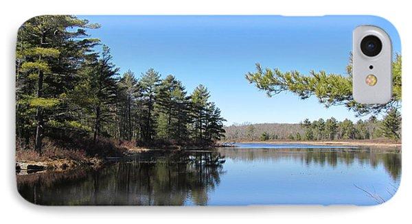 Mountain Pond - Pocono Mountains IPhone Case by Susan Carella