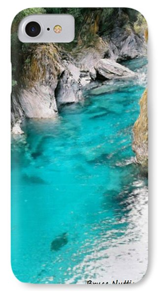 IPhone Case featuring the painting Mountain Pool by Bruce Nutting