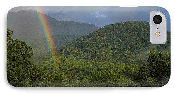 Mountain Rainbow 2 IPhone Case