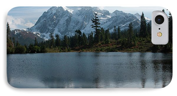 Mountain Reflection IPhone Case by Rod Wiens