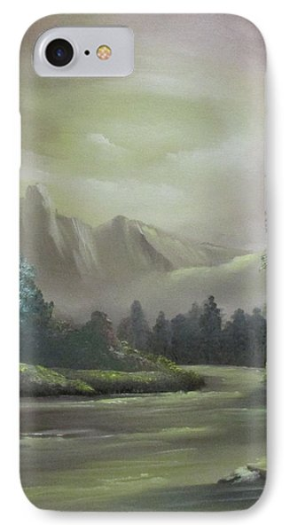 Mountain River Phone Case by Dawn Nickel