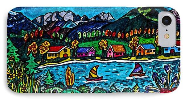 Mountain Sail Phone Case by Monica Engeler