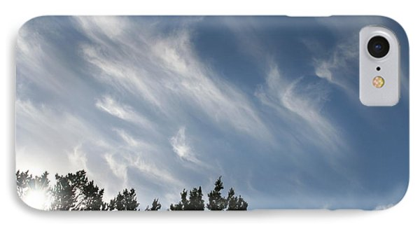 IPhone Case featuring the photograph Mountain Sky by David S Reynolds