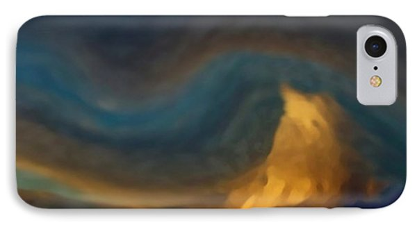 Mountain Storm Approaching IPhone Case by Dennis Buckman