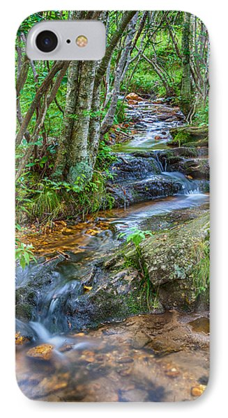 Mountain Stream IPhone Case by David Cote