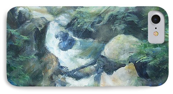 Mountain Stream IPhone Case by Mary Lynne Powers
