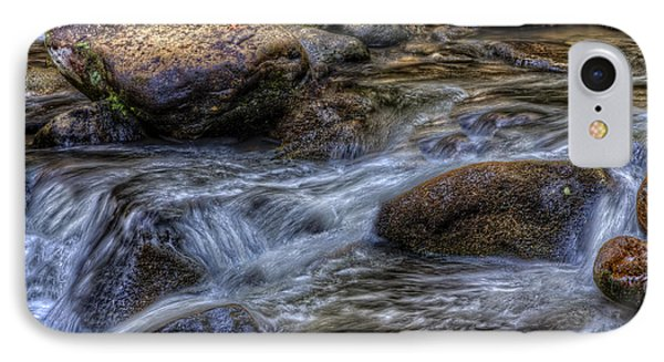 Mountain Stream On The Rocks IPhone Case