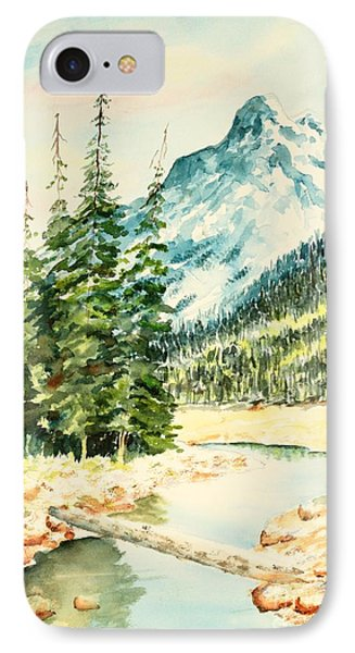 Mountain Stream IPhone Case by Pattie Calfy