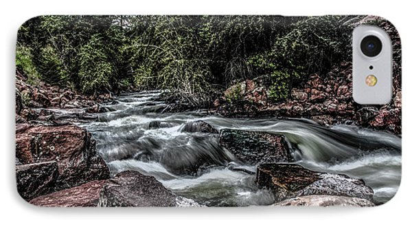 Mountain Stream IPhone Case by Ray Congrove